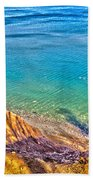 Lake Ontario At Chimney Bluff Bath Towel