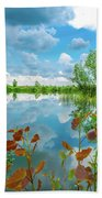 Lake Reflection Bath Towel