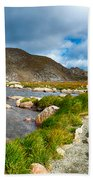 Lake Summit Tundra Path Bath Towel