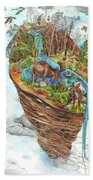 Lake Superior Watershed In Early Spring Bath Towel