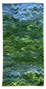 Lake Tahoe Abstract Bath Towel