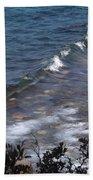 Lake Tahoe Waves Bath Towel