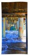 Lake Worth, Florida Pier Bath Towel
