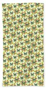 Lalabutterfly Lemons Reduced Scale Bath Towel