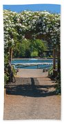 Lale Villarrica, Pucon, Chile Bath Towel
