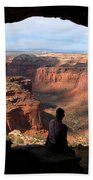 Land Of Canyons Hand Towel