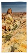Land Of Sandstones Valley Of Fire Bath Towel