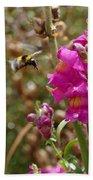 Landing Bumblebee Hand Towel