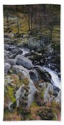 Landscape In Snowdonia Bath Towel