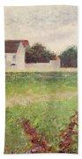 Landscape In The Ile De France Hand Towel