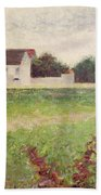 Landscape In The Ile De France Bath Towel