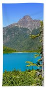 Landslide Lake Bath Towel