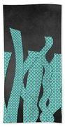 Languettes 02 - Aqua Bath Towel