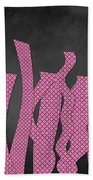 Languettes 02 - Pink Bath Towel