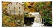 Lantermans Mill In Fall Bath Towel