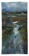 Laramie River Valley  Bath Towel
