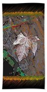 Last Leaf Standing Bath Towel