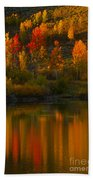 Last Light At Oxbow Bend  Bath Towel