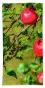 Late Summer Apples Hand Towel