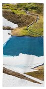 Late Thawing Tarn Bath Towel