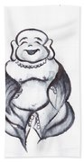Laughing Buddha Bath Towel