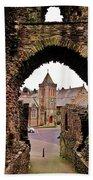 Launceston Castle South Gatehouse Bath Towel