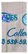 Lavender And Lace Sign - Clarksville Delaware Bath Towel