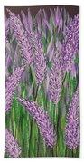 Lavender Blooms Bath Towel