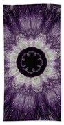 Lavender Iris Bath Towel