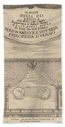 Le Nozze Degli Dei: Frontispiece Bath Towel