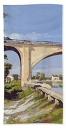 Le Pont Canal A Briare Bath Towel