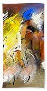 Le Tour De France 05 Bath Towel