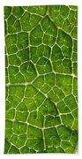 Leaf Veins Bath Towel