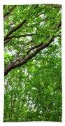 Leafy Canopy Bath Towel