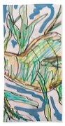 Leafy Sea Dragon Bath Towel
