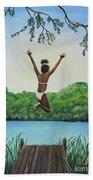 Leap Of Faith Bath Towel