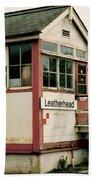 Leatherhead Station Bath Towel