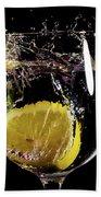 L'eau De Lemon Hand Towel