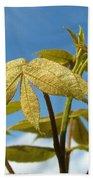 Leaves Of Gold Bath Towel