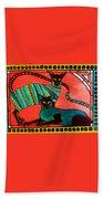 Legend Of The Siamese - Cat Art By Dora Hathazi Mendes Bath Towel