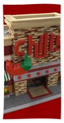 Lego Chili's Restaurant Bath Towel