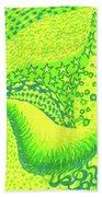 Lemon Lime Bath Towel