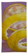 Lemon Twist I Bath Towel