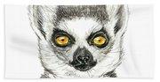 Lemur Hand Towel