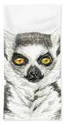 Lemur Bath Towel