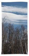 Lenticular Clouds - White Mountains New Hampshire  Bath Towel