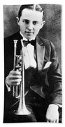(leon) Bix Beiderbecke Bath Towel