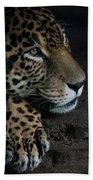 Leopard Print Bath Towel