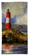 Les Eclaireurs Lighthouse Bath Towel