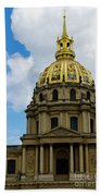 Les Invalides Bath Towel